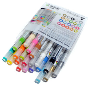MTN 3mm Water Based Paint Markers 20-Pack