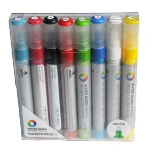 MTN 3mm Water Based Paint Markers 8-Pack