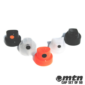 50 Pack - MTN Complete Spray Paint Nozzle Set