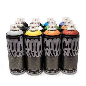 MTN SPEED 400ml Spray Paint Set of 12 - Catch Me if you Can