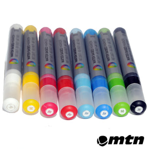 MTN 5mm Water Based Paint Markers 8-Pack - InfamyArt - 1