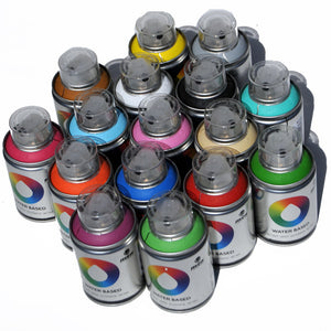 MTN Water Based Spray Paint 16 Can Workshop Pack by Montana Colors - InfamyArt - 3