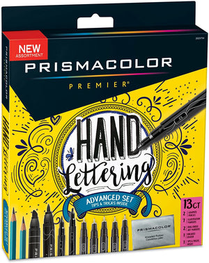 Hand Lettering Advanced Set by Prismacolor
