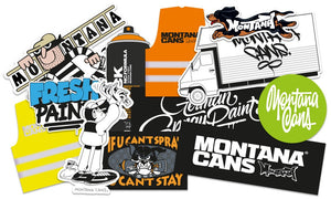 Montana Cans Sticker Set