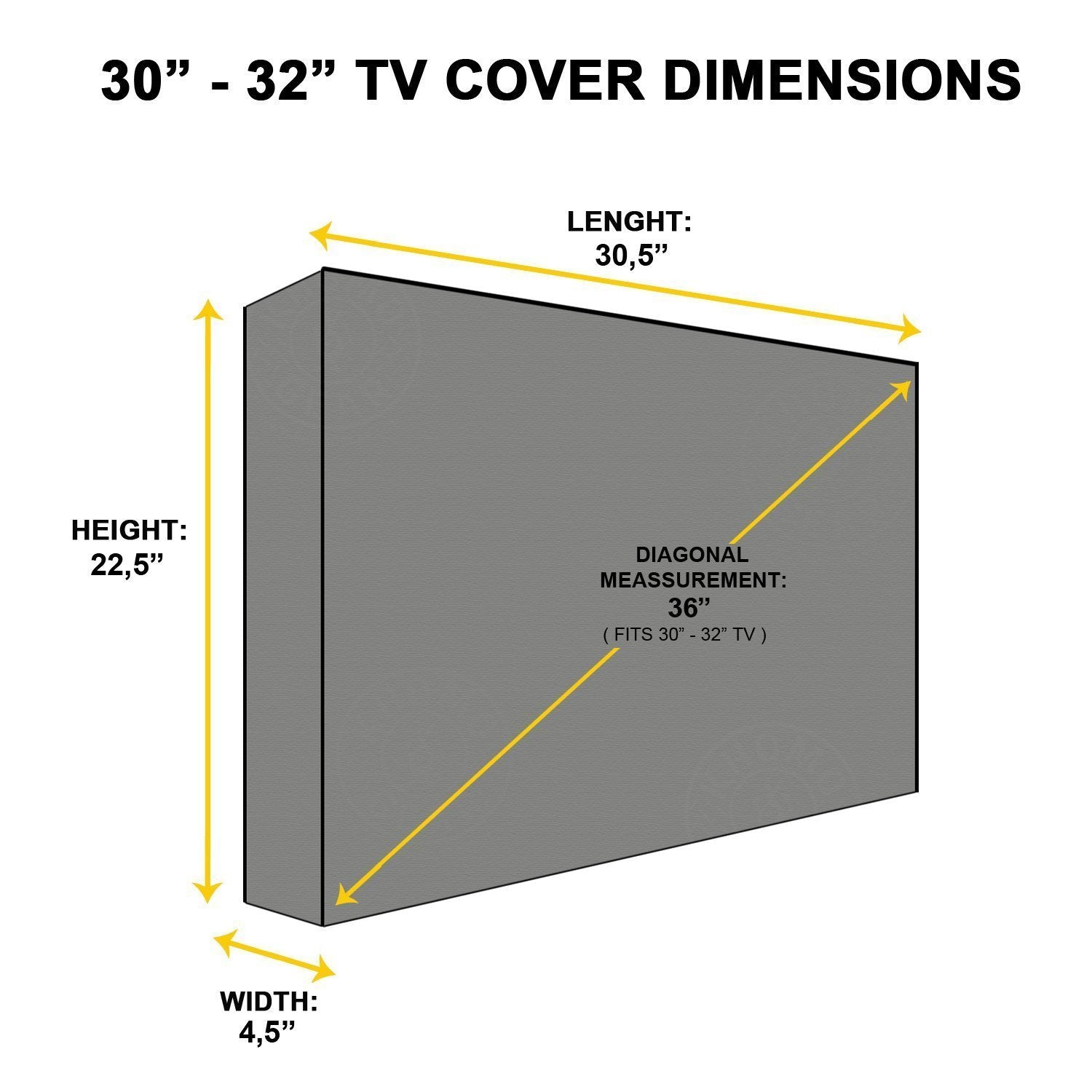 TV Cover With Screen