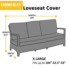 Load image into Gallery viewer, Love-seat Lounge Outdoor Cover
