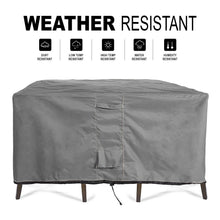 Load image into Gallery viewer, Patio Table & Chair Set Cover Durable & Water Resistant Outdoor Furniture Cover