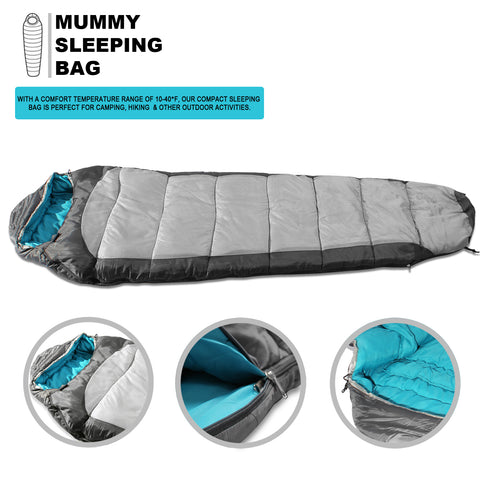 2e5b546bf9c7 Sleeping Bag For Hiking Camping & Outdoor Activities Compression Bag ...