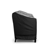 Love-Seat Cover Lounge Waterproof Outdoor Sofa Patio Black