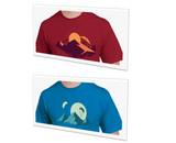 T-Shirt: Mountain Gliders - Mens
