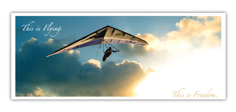 USHPA Free Flight Note Cards