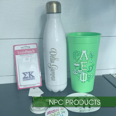 NPC Sorority Merchandise