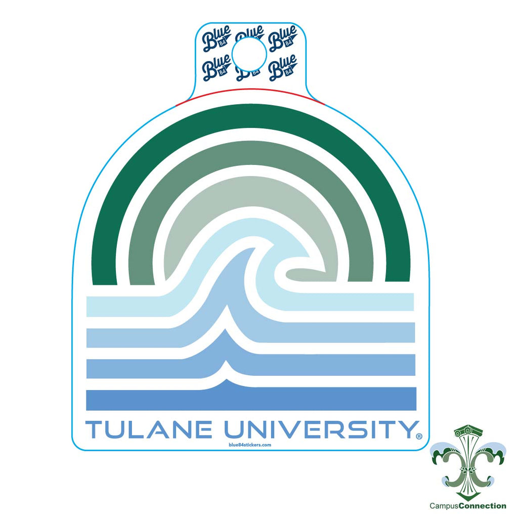 Tulane Aragonite Decal