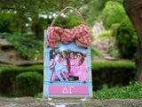 Sorority Beadboard Picture Frame - Merry Belles - Campus Connection - 4