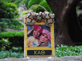 Sorority Beadboard Picture Frame - Merry Belles - Campus Connection - 7