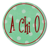 Sorority Round Decal Sticker - Alexandra and Co. - Campus Connection - 3