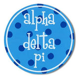 Sorority Round Decal Sticker - Alexandra and Co. - Campus Connection - 4