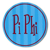 Sorority Round Decal Sticker - Alexandra and Co. - Campus Connection - 12
