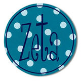 Sorority Round Decal Sticker - Alexandra and Co. - Campus Connection - 2