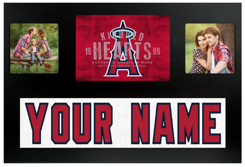 Anaheim Angels MLB Jersey Nameplate Custom Picture Frame