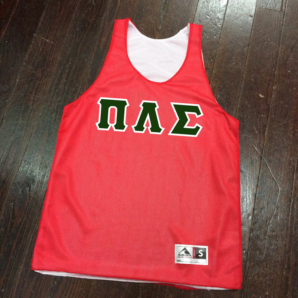 Sewn-Letter Reversible Basketball Pinnie - Campus Connection - Campus Connection - 1