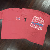 Big/Little Floral Sorority Comfort Colors Frocket Shirt - Campus Connection - Campus Connection - 3