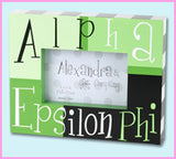 Sorority Block Picture Frame - Alexandra and Co. - Campus Connection - 3