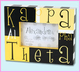 Sorority Block Picture Frame - Alexandra and Co. - Campus Connection - 10