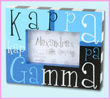 Sorority Block Picture Frame - Alexandra and Co. - Campus Connection - 11