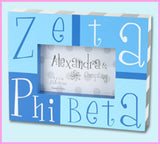 Divine 9 Sorority Block Picture Frame - Alexandra and Co. - Campus Connection - 3