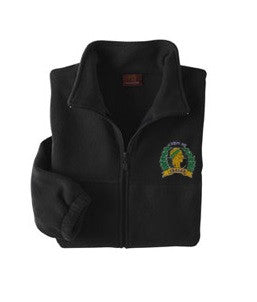 Krewe of Caesar Quarter Zip Microfleece Jacket