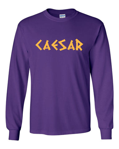 Krewe of Caesar Long Sleeve T-Shirt