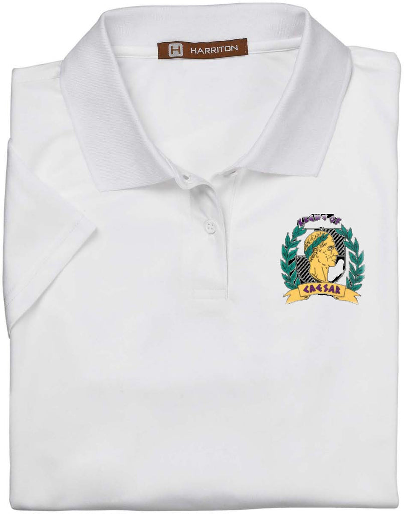Krewe of Caesar Polyester Performance Wicking Polo Shirt - Campus Connection - Campus Connection