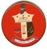 Round Crest Car Badge - Savage Promotions - Campus Connection - 6