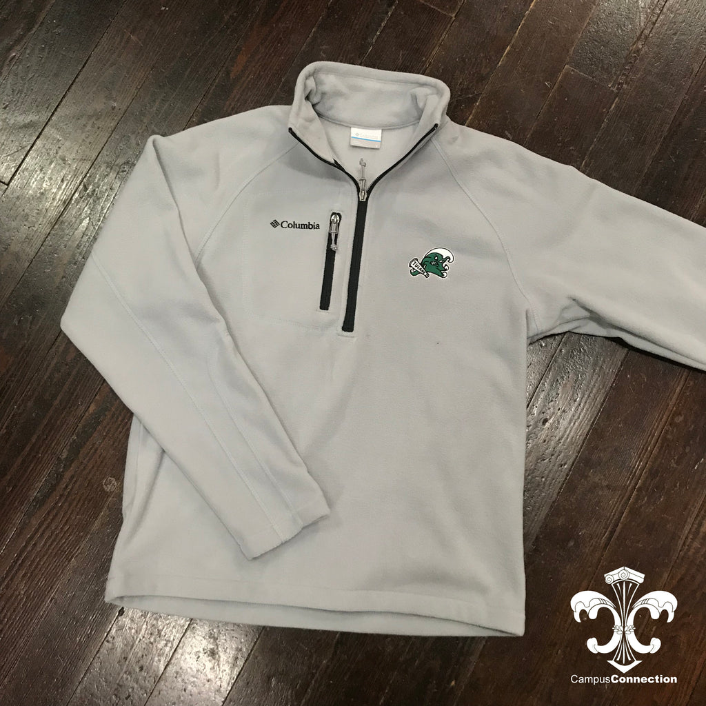 Tulane Angry Wave Columbia Fast Trek Half Zip Fleece