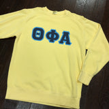 Sewn-Letter Comfort Colors Crewneck Sweatshirt - Campus Connection - Campus Connection - 1
