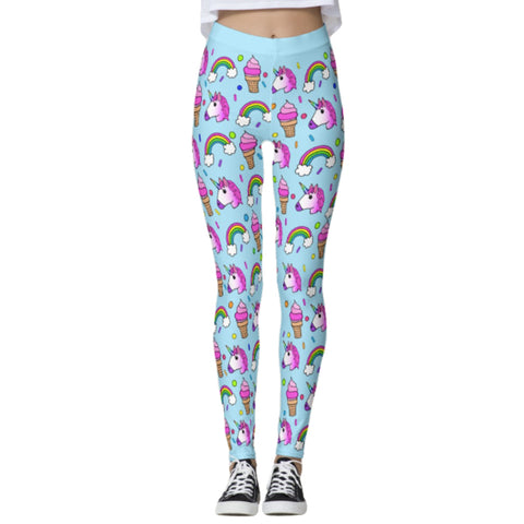 Corey Paige Leggings - Froyo and Unicorns