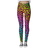 Corey Paige Leggings - Rainbow Cheetah