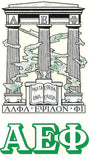 Sorority Crest Decal Sticker - Angelus Pacific - Campus Connection - 3