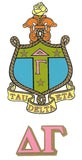 Sorority Crest Decal Sticker - Angelus Pacific - Campus Connection - 6