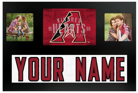 Arizona Diamondbacks MLB Jersey Nameplate Custom Picture Frame