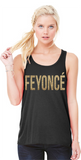 FEYONCE Bella Flowy Racerback Tank Top for the Fiance Bachelorette - Campus Connection - Campus Connection - 2