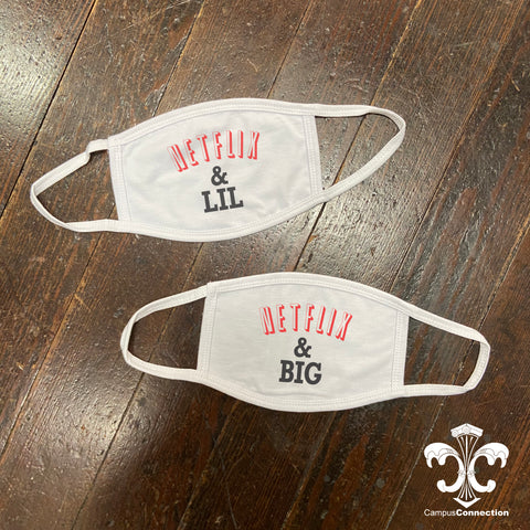 Big/Little Face Mask - Netflix