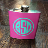 Monogrammed Flask - Campus Connection - Campus Connection - 1