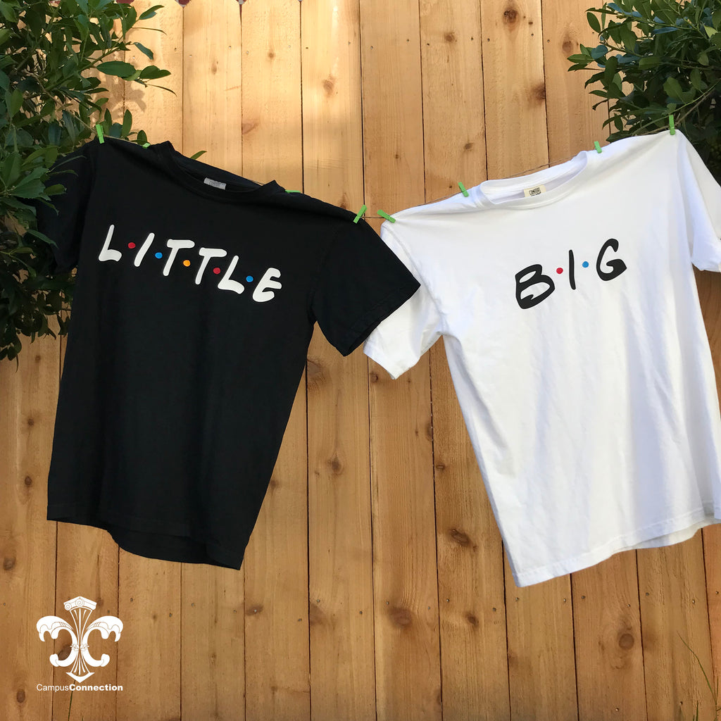 Big/Little/GBig/GGBig Friends Sorority Comfort Colors Shirt