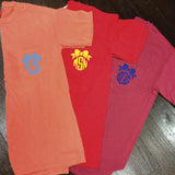 Monogrammed Comfort Colors Frocket - Campus Connection - Campus Connection - 2
