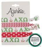 Sorority Hair Tie Pack - Azarhia - Campus Connection - 2