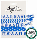 Sorority Hair Tie Pack - Azarhia - Campus Connection - 3
