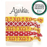 Sorority Hair Tie Pack - Azarhia - Campus Connection - 5