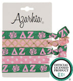 Sorority Hair Tie Pack - Azarhia - Campus Connection - 7